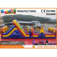 Buy cheap PVC tarpaulin inflatable Obstacle Games Inflatable Sport Games On Sale from wholesalers