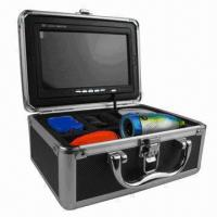 Under Water IR Camera for fishing, underwater monitoring, built-in 7-inch TFT monitor, 15M viewing Manufactures