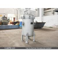 Quality High Capacity Multi-Bag Filters Housing for Liquid Filtration for sale