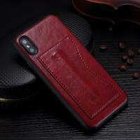 Idools Card Slot Phone Case , Customized Back Cover Support Stand Holder Manufactures
