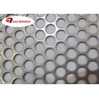 Beauty Round Hole Shape Perforated Metal Mesh Galvanized 5-10mm Diameter Manufactures