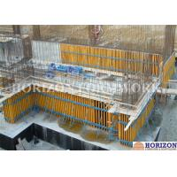 High Efficiency Wall Formwork Systems , Core Wall Formwork With Push Pull Props Manufactures