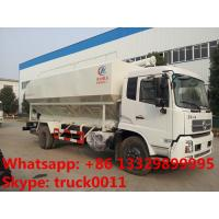 China farm-oriented chicken,cattle,pig poultry farm feed transported truck for sale, hydraulic system feed delivery truck on sale