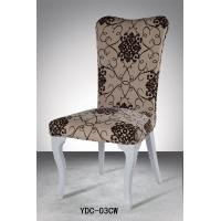 Stainless steel fabric upholstery restaurant chair (YDC-03CW) Manufactures