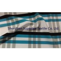 Polyester Poplin Elastic Stretch Fabric with all over Paper Print Manufactures