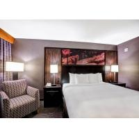 Luxury Art Hotel Bedroom Furniture Sets With Coffee Chair / Table Manufactures