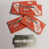 Men shaving safety stainless steel single edge razor blades Manufactures
