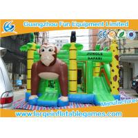 Jungle Safari Inflatable Bouncy Castle JB Games 0.55mm PVC Material Manufactures