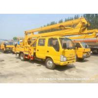 ISUZU 16m Truck Mounted Articulated Aerial Work Platforms High Performance Manufactures