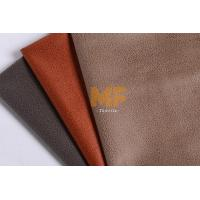 Leather Imitation Textured Velboa Fabric / Interior Modern Floral Upholstery Fabric Manufactures