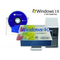 Windows 10 Brand New Home OEM Pack , Optional Language Computer 100% Original Manufactures