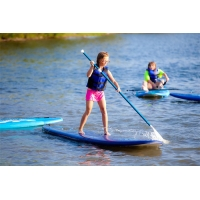China Two Layer 3.2m Inflatable Stand Up Paddle Board Set For Touring on sale