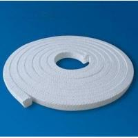 White Low Friction Pure PTFE Packing glands Self lubricant For Valve stems Manufactures