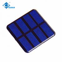 0.3W polycristalline solar panel for solar power car toy ZW-5050 ROHS solar panel 2V Manufactures