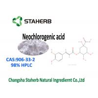 China White Powder Standard Reference Materials Pure Neochlorogenic Acid 98% HPLC CAS 906-33-2 on sale