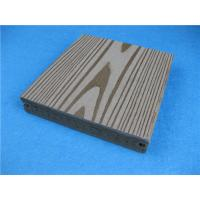 Watertight And Etch-proof WPC Timber Flooring Decking With Wood Look Manufactures