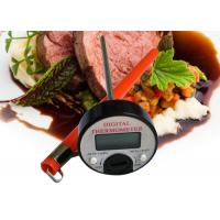 Abs Plastic Housing Round Outdoor Cooking Thermometer With Sheath Power Saving Manufactures