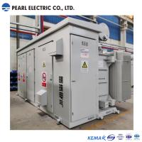China 3600 kva high voltage and low voltage box type substation on sale