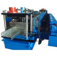 PLC Control 20 Stations CZ Purlin Roll Forming Machine With 12-15m / Min Speed Manufactures
