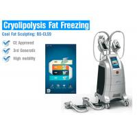 Cryolipolysis slimming equipment Fat suction cryotherapy cryolipolysis body slimming machine Manufactures