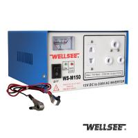 China WELLSEE dc to ac inverter for home WS-M200 200M home use power inverter on sale