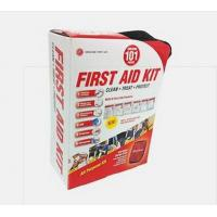 GFA  All-purpose First Aid Kit, Soft Case with Zipper,101 -Piece Kit, Color Varies Manufactures