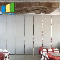 Wooden Sliding Room Acoustic Folding Foldable Partition Walls Divider Screen Manufactures