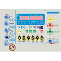 China High Performance LED Membrane Switch Panel Sticker / Membrane Key Switches on sale
