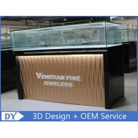 Custom Modern Design Glass Jewellery Shop Display Counters Manufactures