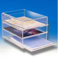 Buy cheap acrylic brochure display holder from wholesalers