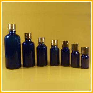 Mini Olive Glass Essential Oil Bottles with Aluminum Cap Dropper Manufactures