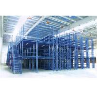 Pallet Two Tier Mezzanine Racking System With Environmental Powder Printing Manufactures