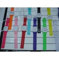 Wholesales AW-7 Fashion originality women watch plastic watch unsex watch 11 colors Manufactures
