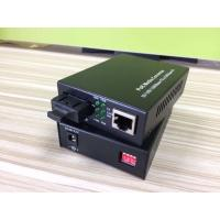 China Iron Power over Ethernet PoE media converter 1000M 1 port FX to 1 port 10 / 100 / 1000M TX on sale