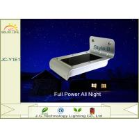 Rechargeable Wireless Waterproof IP65 Solar Powered Night Light 80-100LM Manufactures