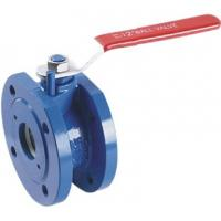 Wafer Type Cast Iron Ball Valve DN50 1.6Mpa DIN Standard Anti - Static Manufactures