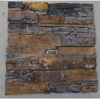 China Exposed brick wall natural stone wall cladding artificial stone type decoration on sale