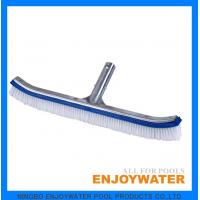 Deluxe poly bristle wall brush with alu back