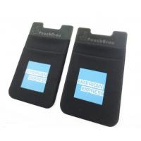 Fashion Black Kangaroo Mobile Phone Pouch Card Holder, Debossed Logo,For American Express Manufactures