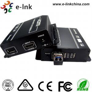 HDMI 1080P KVM USB Keyboard Mouse HDMI Over Fiber Optic Extender Manufactures