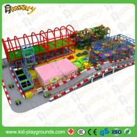 China Large Children Indoor Playground Equipment with Slides Big Amusement Playground Manufactures