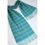 Plaid Cashmere scarf Manufactures