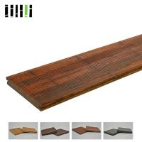 High Density 1220kg/m³ Standard Size Solid Carbonized Strand Bamboo Flooring Easy Installation Manufactures