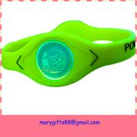 fashion colorful balance silicon power wristband Manufactures
