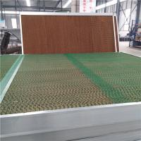 China Galvanized Steel Frame  Poultry Farm Climate Control System 7mm / 5mm Flute High on sale