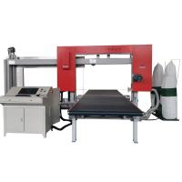CNC Dual Fast PU Foam Cutting Machine , Wire EVA Foam Sheet Cutting Machine Manufactures