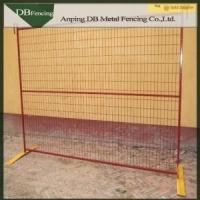 China Canada cheap used steel construction temporary fencing for sale on sale