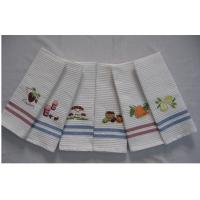cotton embroidery honeycomb tea towel Manufactures