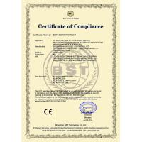 AIA LED Lighting International Limited Certifications