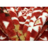 Environmental Colorful Flower Pattern Print Berber Fleece Fabric Sherpa Cloth Lining Fabric Manufactures